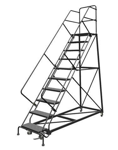 Safety Slope Rolling Ladder (VC611) | First Nation